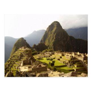 Machu Picchu Peru Postcards