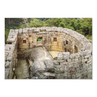 Machu Picchu Peru Temple of the Sun Ruins Invites