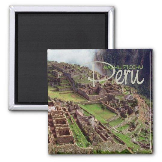 MACHU PICCHU Peru Travel Souvenir Magnet