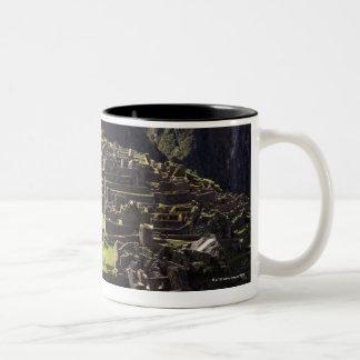 Machu Picchu, Peru Two-Tone Coffee Mug