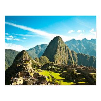 Machu Picchu Postcards