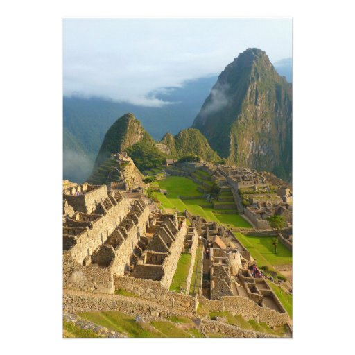 Machu Picchu ruins Announcements