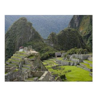 Machu Picchu, ruins of Inca city, Peru. 2 Post Cards