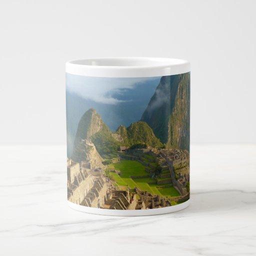 Machu Picchu ruins Extra Large Mugs