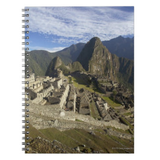 Machu Picchu, UNESCO World Heritage Site, Aguas Notebooks