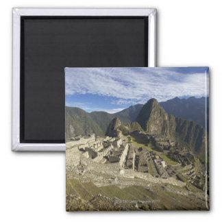 Machu Picchu, UNESCO World Heritage Site, Aguas Square Magnet