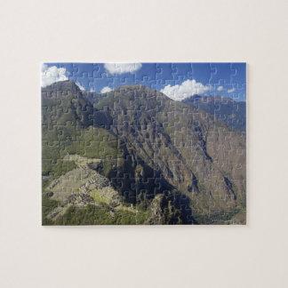 Machu Picchu viewed from Huayna Picchu, UNESCO Jigsaw Puzzle