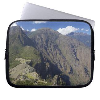 Machu Picchu viewed from Huayna Picchu, UNESCO Laptop Sleeve
