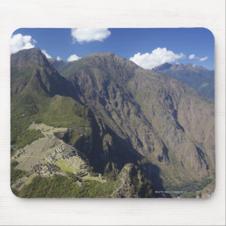 Machu Picchu viewed from Huayna Picchu, UNESCO Mouse Mat