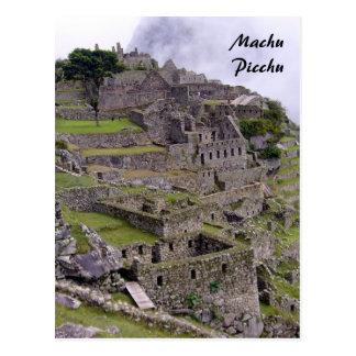 machu stone postcard