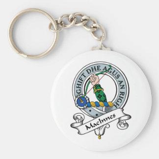 MacInnes Clan Badge Key Ring