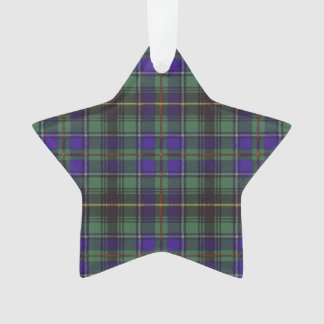 Macinnes clan Plaid Scottish tartan Ornament