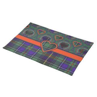 Macinnes Scottish tartan Place Mats