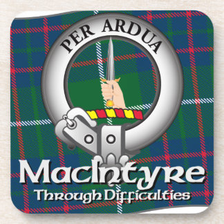 MacIntyre Clan Drink Coasters