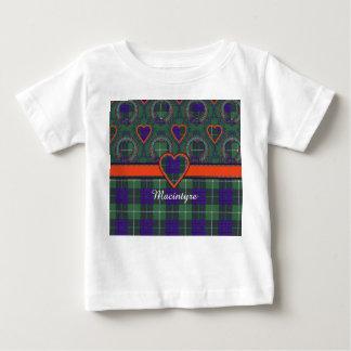 Macintyre clan Plaid Scottish tartan Baby T-Shirt
