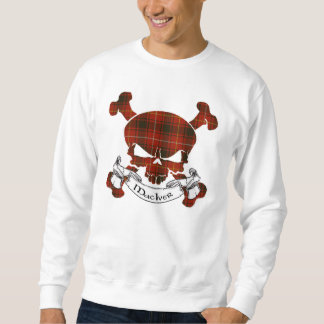 MacIver Tartan Skull Sweatshirt