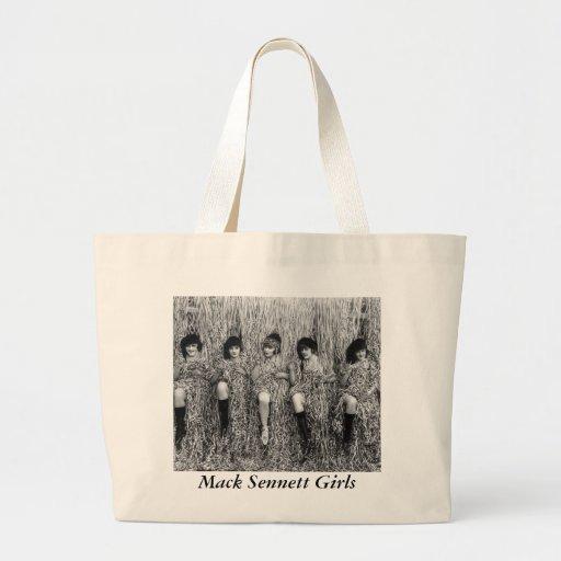 Mack Sennett Girls, 1918 Tote Bag