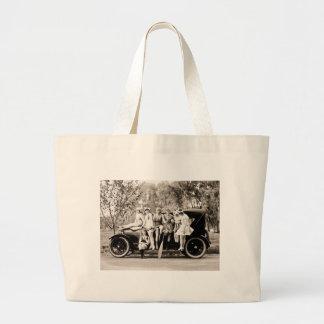 Mack Sennett Girls 1918 Vintage Beauties Large Tote Bag