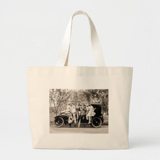 Mack Sennett Girls 1918 Vintage Beauties Canvas Bag
