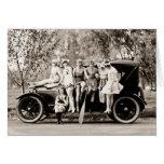 Mack Sennett Girls 1918 vintage Greeting Card