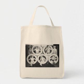 Mack Sennett Glamour Girls Vintage Photo Canvas Bag