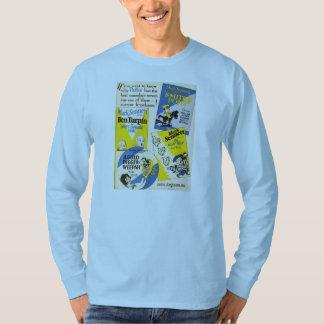 Mack Sennett Golf Nut Ben Turpin 1927 exhibitor ad T Shirt