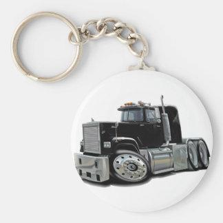 Mack Superliner Black Truck Key Ring