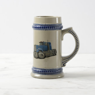 Mack Superliner Lt Blue Truck Beer Stein