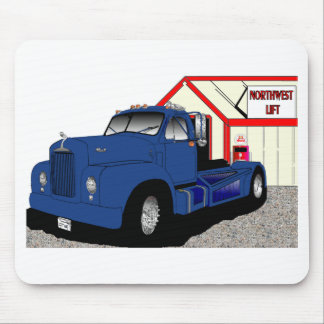 Mack truck mousepad