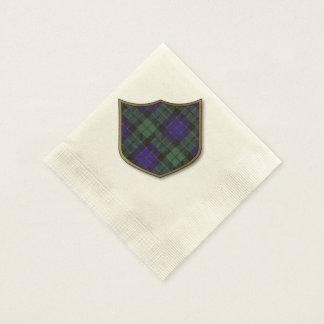Mackay clan Plaid Scottish tartan Disposable Serviettes