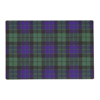 Mackay clan Plaid Scottish tartan Laminated Place Mat