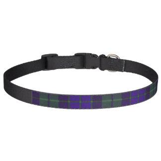 Mackay clan Plaid Scottish tartan Pet Collar
