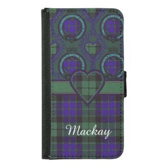 Mackay clan Plaid Scottish tartan Samsung Galaxy S5 Wallet Case