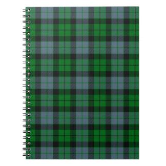 MacKay / McCoy Tartan Writing Pad Notebook
