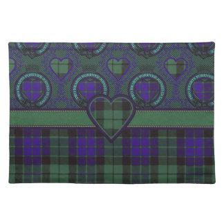 Mackay Scottish clan tartan - Plaid Place Mats