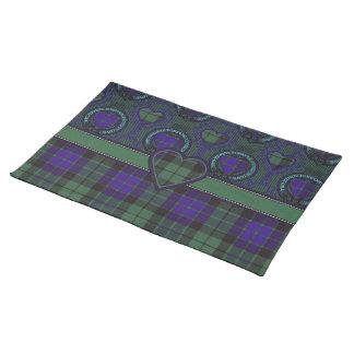 Mackay Scottish tartan Placemats