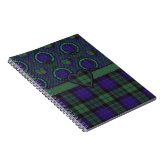 Mackay Scottish tartan Spiral Notebook