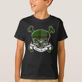 MacKay Tartan Skull T-Shirt