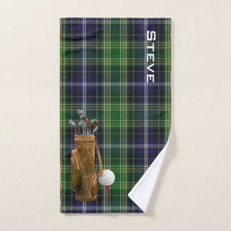 MacKellar Plaid Golf Towel