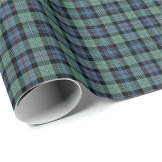 Mackenzie Clan Ancient Tartan Wrapping Paper