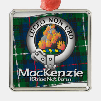 Mackenzie Clan Christmas Ornament