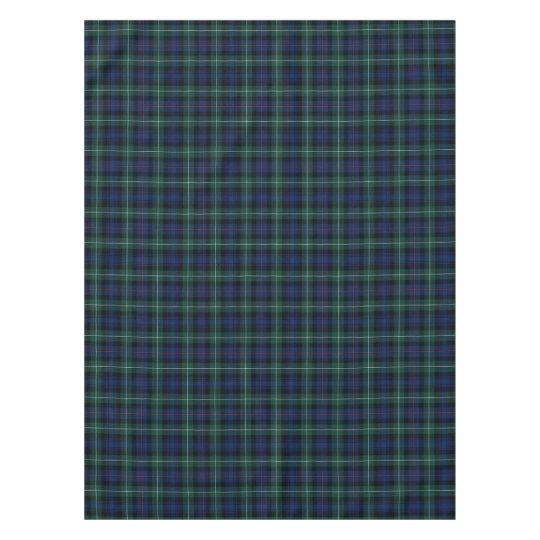 MacKenzie Scottish Clan Plaid Tartan Tablecloth