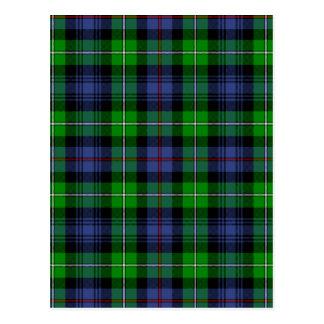 MacKenzie Tartan (aka Seaforth Highlanders Tartan) Postcard