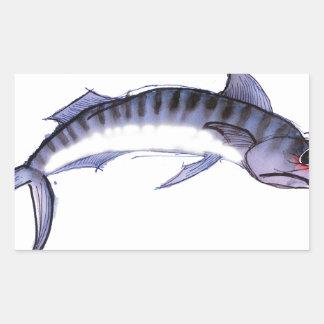 Mackerel fish, tony fernandes sticker
