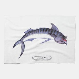 Mackerel fish, tony fernandes tea towel
