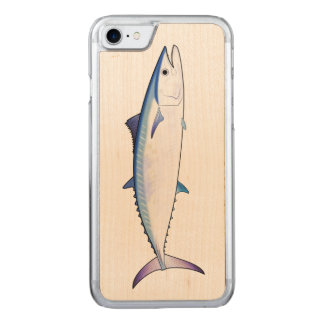 Mackerel Kingfish Carved iPhone 7 Case