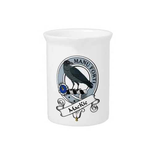 MacKie Clan Badge Drink Pitchers