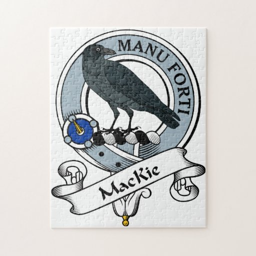 MacKie Clan Badge Jigsaw Puzzles