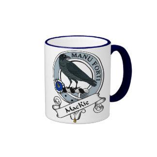 MacKie Clan Badge Ringer Mug