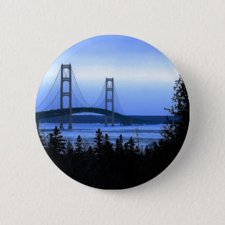 Mackinac Bridge 6 Cm Round Badge